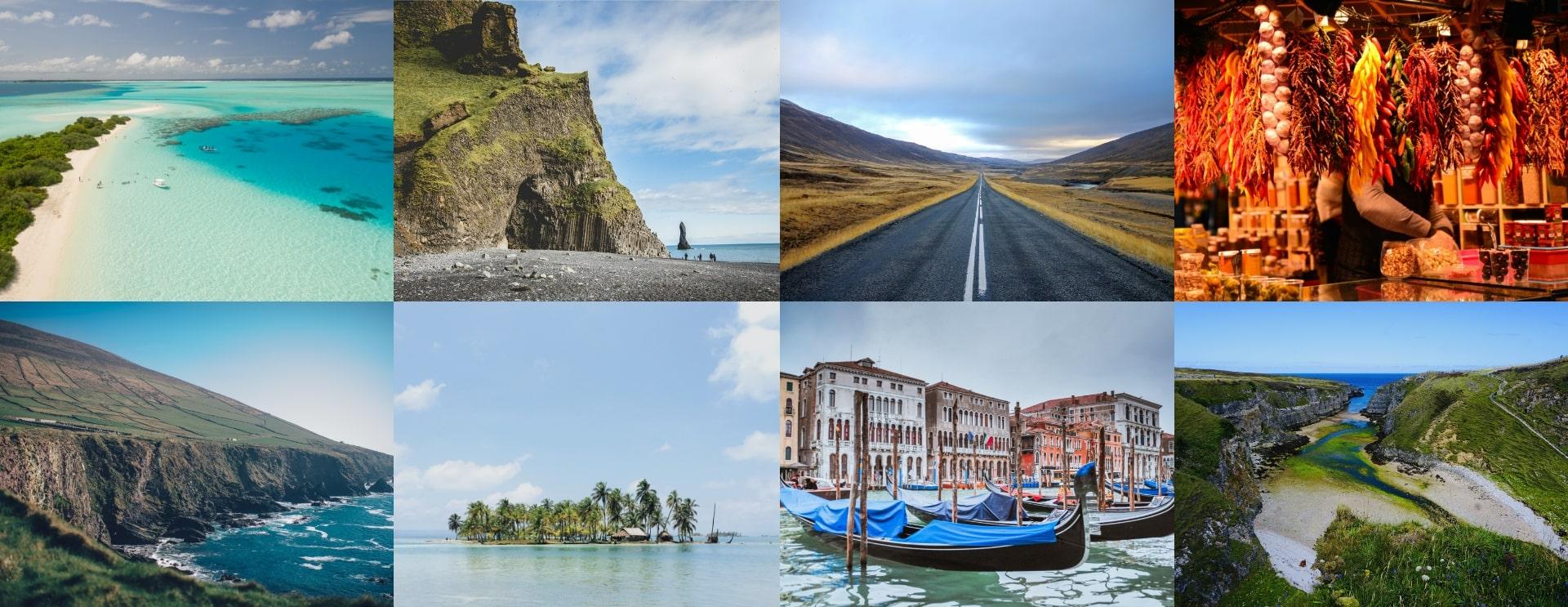 Destinations de tourisme paysages mer